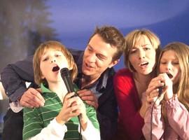 thi công karaoke gia đình