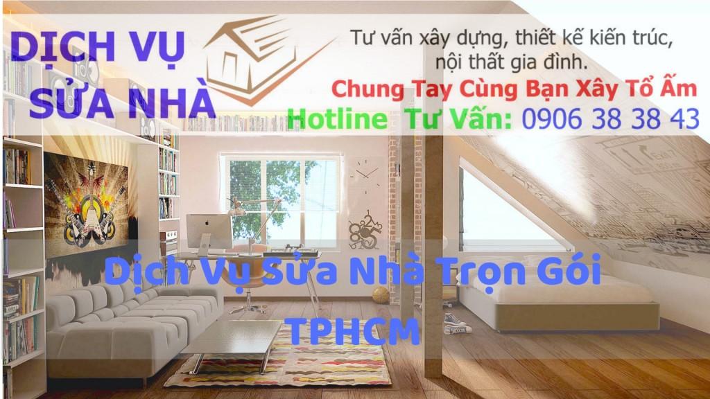 Dịch vụ sơn sửa nhà cửa, sơn tường nhà tphcm