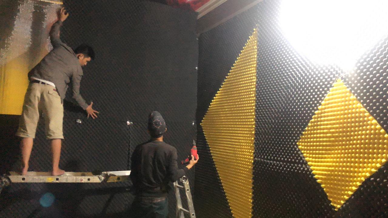 thi công quán karaoke