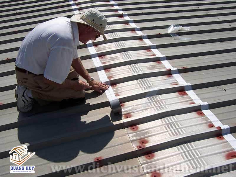 chống dột cho mái tôn