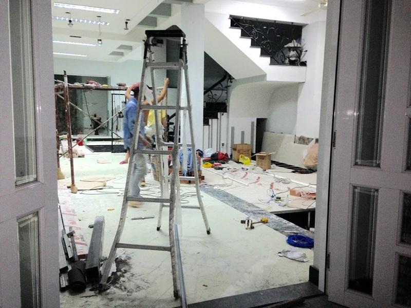 Quy trình sửa nhà (sửa nhà hcm)