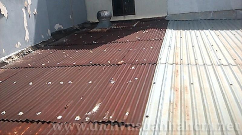 Xử lý chống dột mái tôn