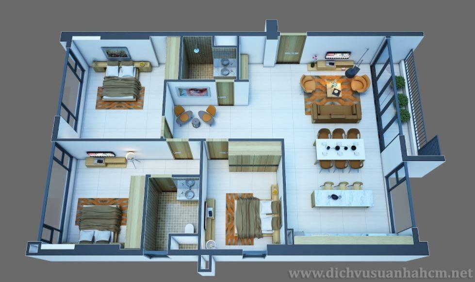 Sử dụng dịch vụ sửa nhà phải lựa chọn thiết kế sao cho phù hợp