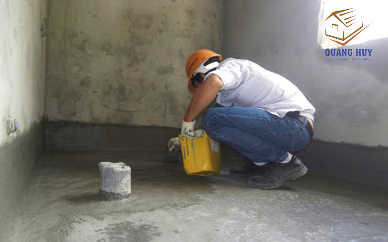cách xử lý chống thấm nhà vệ sinh