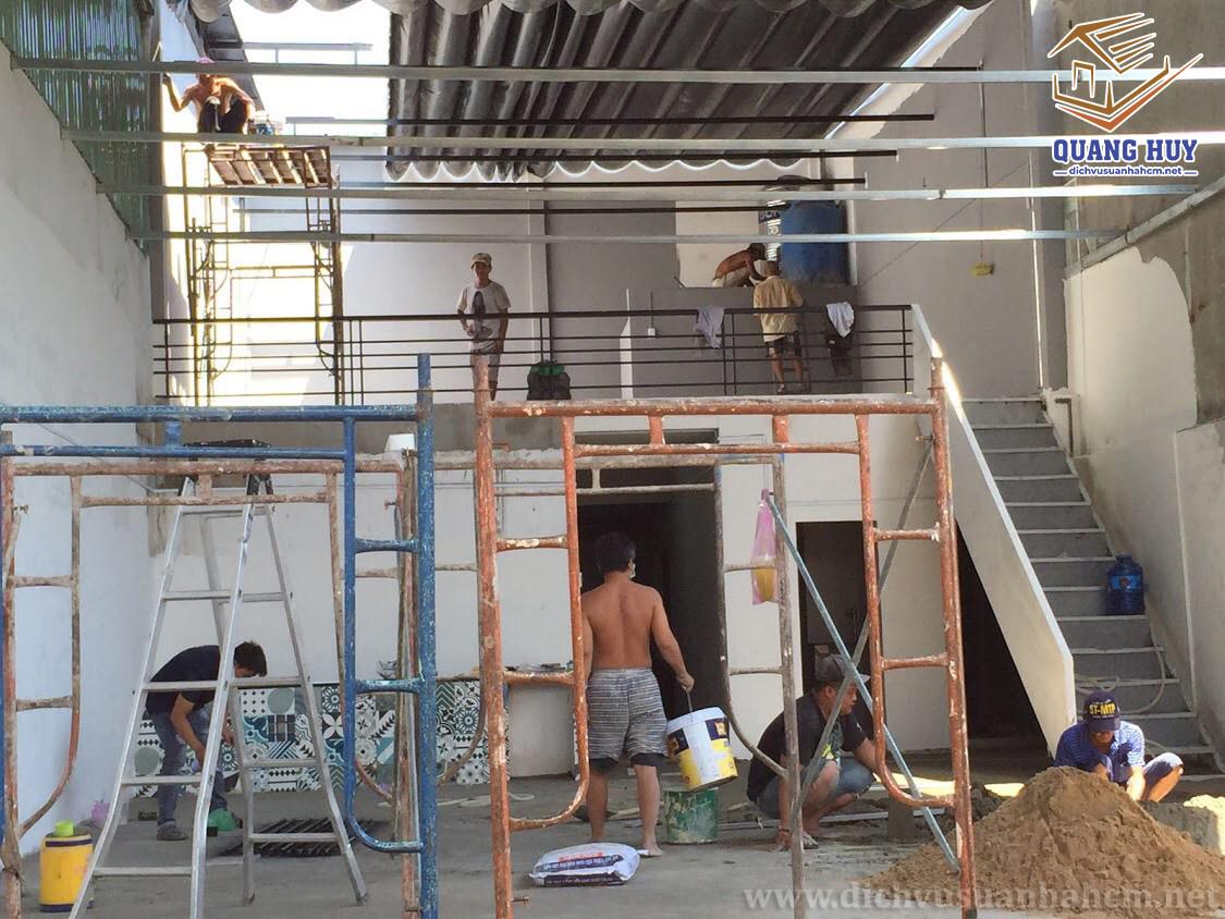 dịch vụ sửa nhà Quang Huy