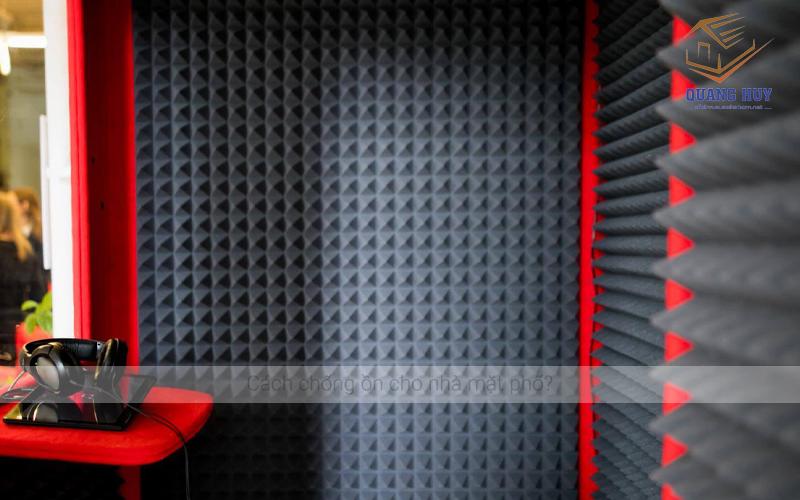Cách chống ồn cho nhà mặt phố